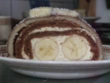 Diviso rotolo banana - Rezept