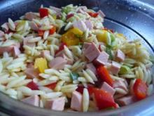 Reisnudelsalat mit Curry - Rezept