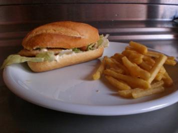 """""""Chicken-Burger-Menü"""" - Rezept"""