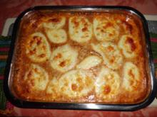 Bologneser-Kartoffel-Auflauf - Rezept