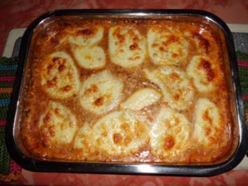 Rezept: Bologneser-Kartoffel-Auflauf