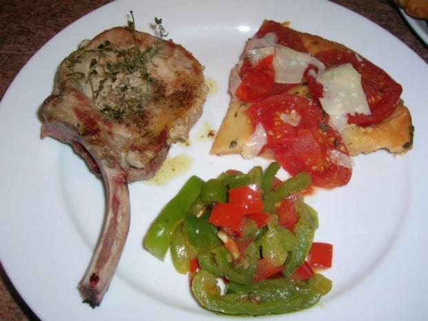 Tomaten-Tarte-Tartin mit Iberico Koteletts - Rezept - Bild Nr. 5