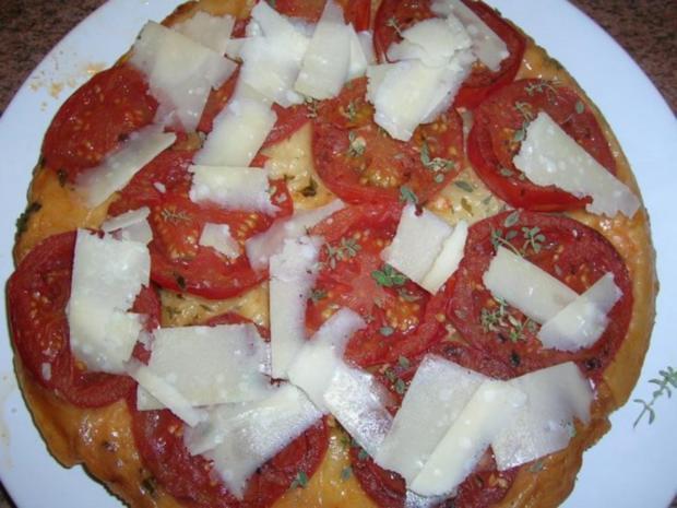 Tomaten-Tarte-Tartin mit Iberico Koteletts - Rezept