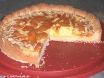 Aprikosen-Kuchen - Rezept