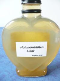 Rezept: Holunderblüten - Likör