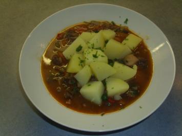 Besoffenes Gulasch - Rezept