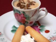 Teecreme, dazu eine Tasse ostfriesischer Tee - Rezept