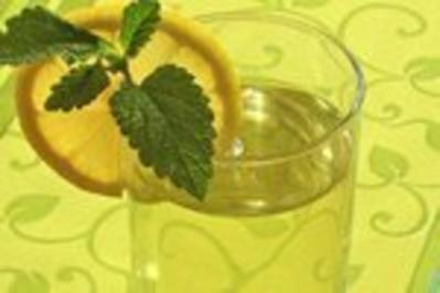 Zitronen-Mellissen-Tee - Rezept