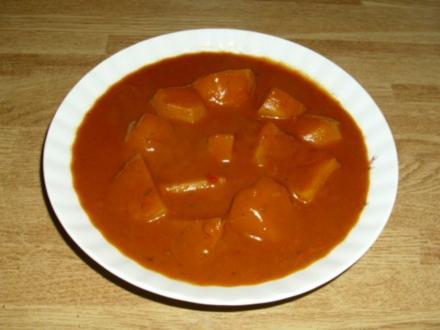 Schnelles Kartoffelgulasch - Rezept