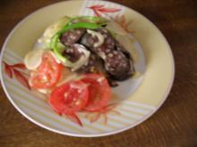 Wurstsalat - so wie ihn die Schwaben gerne essen - Rezept