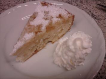Gestürzter Apfelkuchen - Rezept