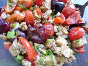 Salat: Tomaten-Kirschen-Mozzarella - Rezept