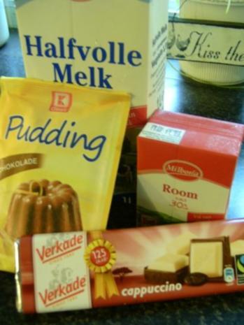 Schokoladenpudding mit einer Cappuccino-Vanillenote - Rezept - Bild Nr. 2