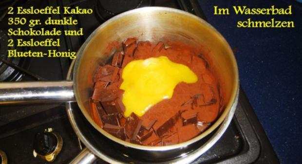 Schokoladen-Torte mit Johannisbeer-Gelée - Rezept - Bild Nr. 5
