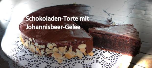 Schokoladen-Torte mit Johannisbeer-Gelée - Rezept - Bild Nr. 11
