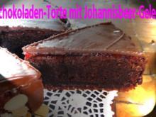 Schokoladen-Torte mit Johannisbeer-Gelée - Rezept
