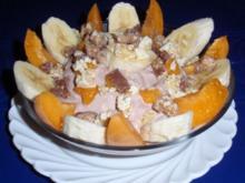 Früchtchen auf Schoko-Joghurtquark - Rezept