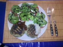 Vegetarisch: Basilikum-Plätzchen mit Ziegenkäse - Rezept