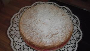 Johannisbeer-Baiser-Torte - Rezept