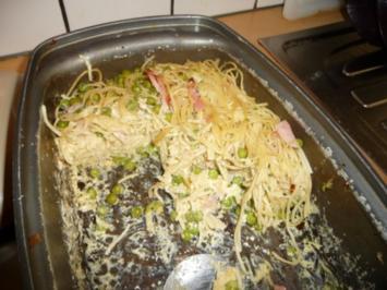 Spaghetti-Carbonara Auflauf - Rezept