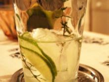 Wodka-Limetten-Drink mit Thymian - Rezept