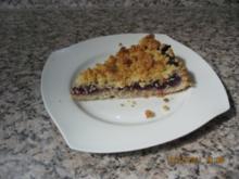 Heidelbeerenkuchen mit Streusel sehr Saftig - Rezept