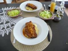 Hauptgericht : Kassler auf Kartoffel-Blumenkohlbrei - Rezept