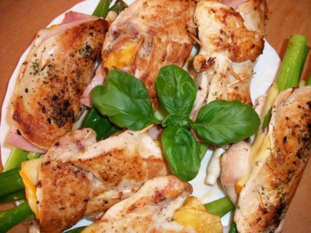 Hähnchenbrustfilet gefüllt.     Zucchinigemüse mal anders..... - Rezept - Bild Nr. 3
