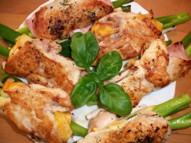 Hähnchenbrustfilet gefüllt.     Zucchinigemüse mal anders..... - Rezept - Bild Nr. 4