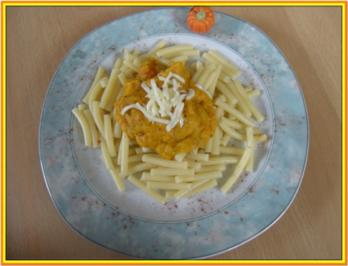 Maccheroni mit Kürbis - Rezept