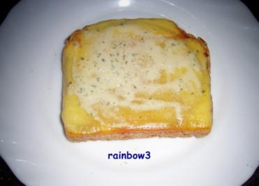 Zwischensnack: Käse-Toast - Rezept