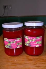 Erdbeer-Kokos-Marmelade - Rezept