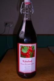 Rezept: Johannisbeersirup