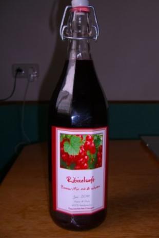 Johannisbeersirup - Rezept