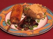 Rindfleisch mariniert mit schwarzem Pfeffer und Melassesirup (Shawne Fieldings) - Rezept