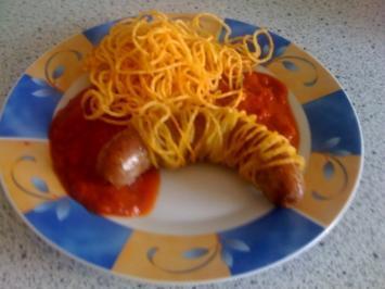 Rezept: Bondaged Currywurst