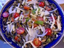 Pasta negra - Salat - Rezept