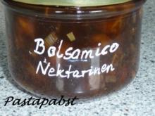 Nektarinen-Balsamico-Chutney - Rezept
