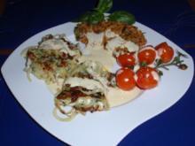 Zanderfilet im Kartoffel-Kräutermantel - Rezept
