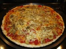 Pizza Grundrezept und Tomatensauce - Rezept