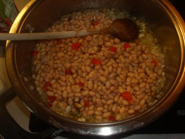 Beilagen: Weiße Bohnen mit Chili - Rezept - Bild Nr. 2