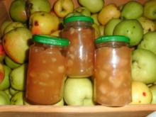 Apfelmarmelade Winterapfel - Rezept
