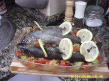 Trucha a la Anne con  jamón serrano - Rezept