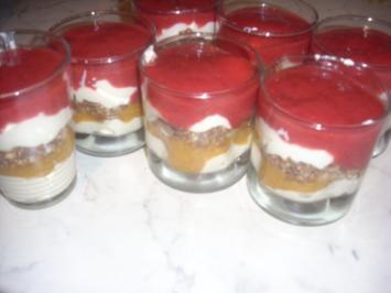 Schicht-Dessert - Rezept