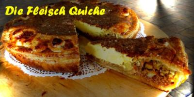 Rezept: Fleisch - Quiche à la Marcos