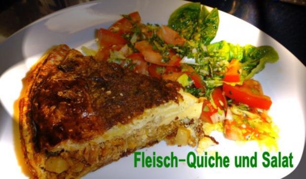 Fleisch - Quiche à la Marcos - Rezept - Bild Nr. 10
