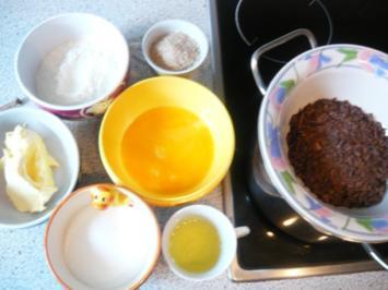 Schoko-Mandel-Schnitten - Rezept