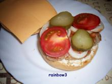 Zwischensnack: Hamburger / Cheeseburger - Rezept