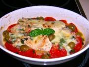 Mozzarella-Puten-Gratin - Rezept