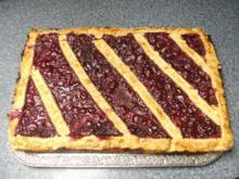 Kirsch-Blechkuchen - Rezept